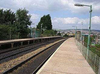 Aber railway station - Aber railway station