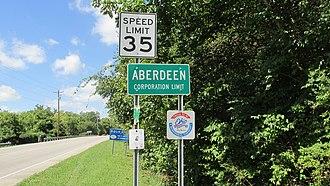 Aberdeen, Ohio - Image: Aberdeen OH1