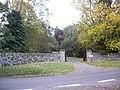 Access gate to Kilcoy Castle - geograph.org.uk - 1531748.jpg