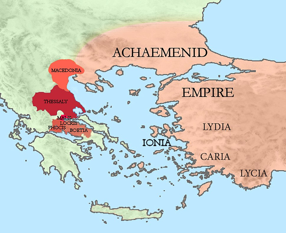 Achaemenid Empire and Greek allies at the Battle of Plataea 479 BCE