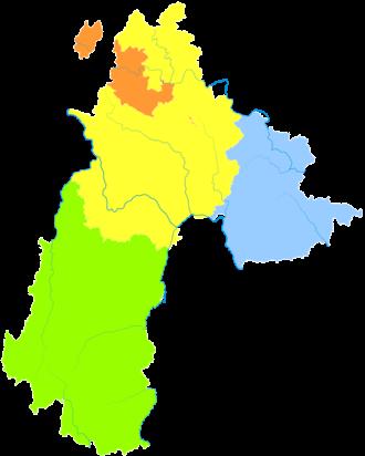 Liupanshui - Image: Administrative Division Liupanshui 2