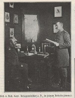 Adolph von Asch zu Asch auf Oberndorff - Adolph von Asch (left)
