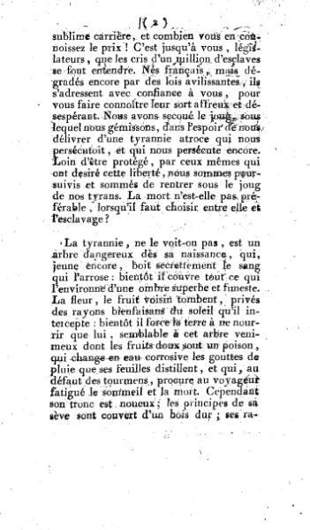 File:Adresse pour les nègres détenus en esclavage 1793.djvu