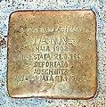 Adua Nunes - pietra d'inciampo - Moncalvo (AT).jpg