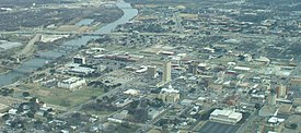 Aerial view of Downtown Waco 2009 Looking East.jpg