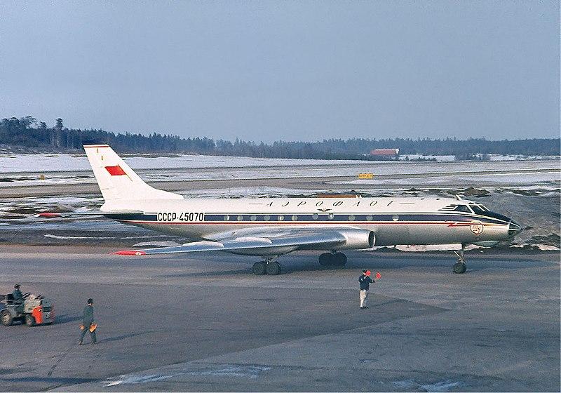 File:Aeroflot Tupolev Tu-124 at Arlanda, April 1966.jpg