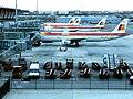 Aeropuerto de Madrid-Barajas T4 Iberia.JPG