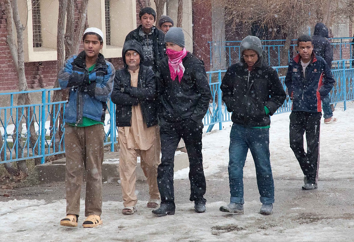 Corps of Engineers workers deliver donations to Kabul