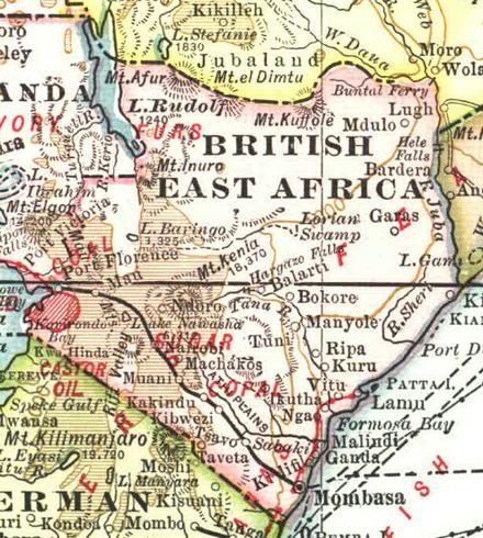 východní afrika online dating