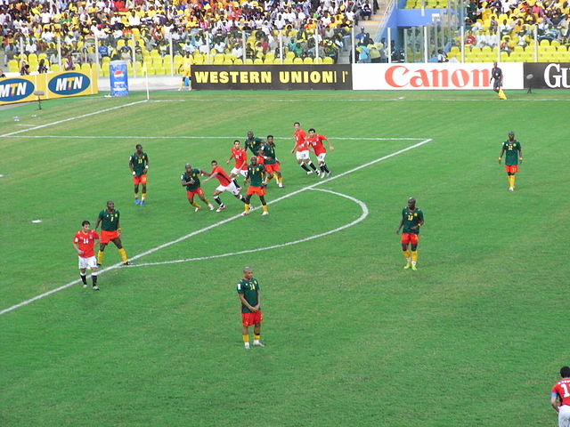 Egypt against Cameroon at the 2008 African Cup of Nations Final Africa cup final1.jpg
