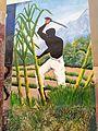 Afroperuà treballant al camp en un graffiti de Zaña.jpg
