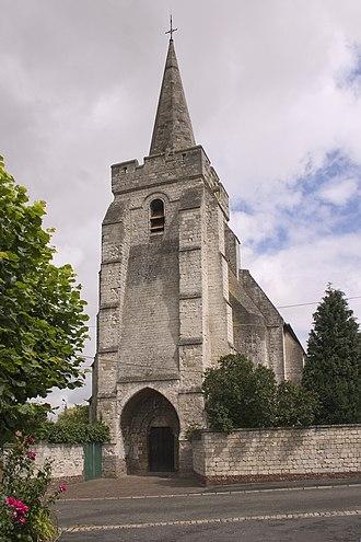 Agnez-lès-Duisans - The church of Agnez-lès-Duisans