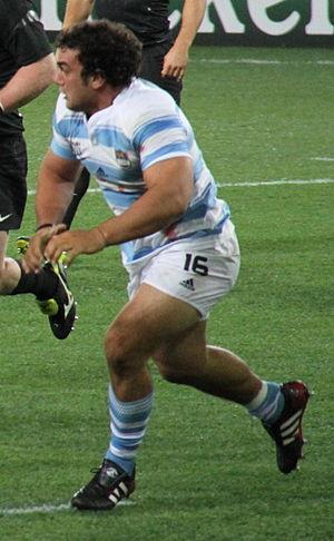 Agustín Creevy - Creevy vs England at 2011 Rugby World Cup