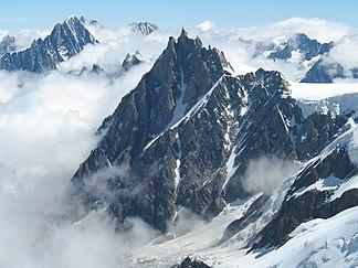 Aiguille du Midi (im Sommer)
