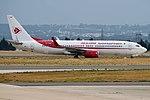 Air Algerie, 7T-VKF, Boeing 737-8D6 (44360830295).jpg