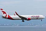 Air Canada Rouge, B767-300, C-FMWU (17829575034).jpg