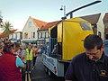 Air ambulance float, Sheringham carnival parade, Wyndham Street, Sheringham 2014-08-06.JPG