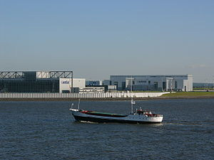 Hamburg Finkenwerder Airport - Image: Airbus elbe 2 hg