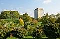 Airo tower hotel from Kurpark Oberlaa 01.jpg