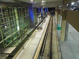 Terminal 2–Humphrey station - Terminal 2–Humphrey in 2014