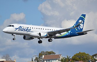 SkyWest Airlines - A SkyWest Embraer 175 operating for Alaska Airlines