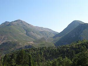 Protected areas of Albania - Image: Albania Librazhd Llange