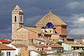 Alborea, Iglesia de La Natividad, desde el camino del cementerio.jpg