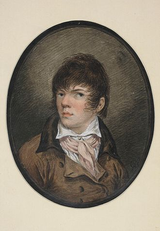 Aleksander Orłowski - Aleksander Orłowski, Self-portrait at a Young Age, 1800. National Museum in Warsaw
