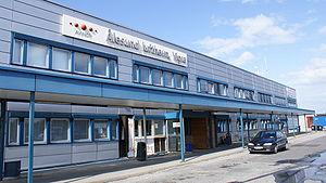Ålesund Airport, Vigra - Terminal exterior