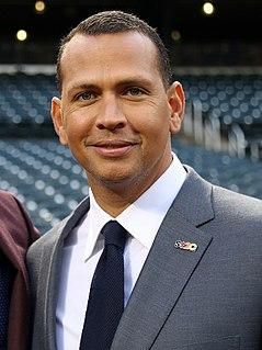 Alex Rodriguez American baseball player