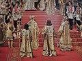 Alexander III and Maria Fedorovna's coronation by G.Becker (1888, Hermitage) detail 01.JPG