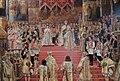 Alexander III and Maria Fedorovna's coronation by G.Becker (1888, Hermitage) detail 05.JPG