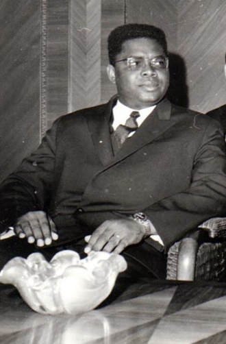 Alfred Raoul - Alfred Raoul while Prime Minister of the Republic of the Congo, November 1969