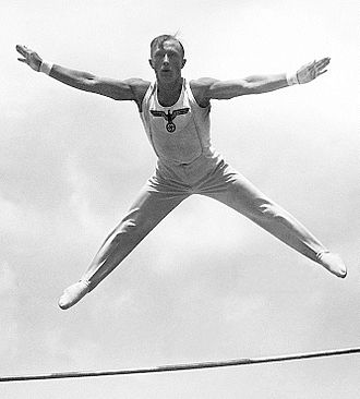 Alfred Schwarzmann - Schwarzmann at the 1936 Olympics