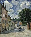 Alfred Sisley (1839-1899) - A Street, Possibly in Port-Marly - 2414 - Fitzwilliam Museum.jpg