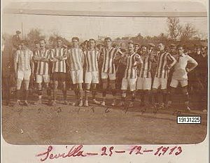 Real Betis - Real Betis, 25 December 1913