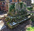 All Hallows Church Tottenham London England - churchyard chest tomb overgrown 13.jpg
