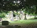All Saints Graveyard - viewed from New Road - geograph.org.uk - 1967529.jpg