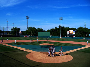 Allie Reynolds - Allie P. Reynolds Stadium in Stillwater, Oklahoma. Home of the Oklahoma State Cowboys.