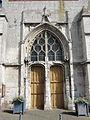 Allonne (60), église Notre-Dame de l'Annonciation, façade occidentale, portail principal 2.JPG