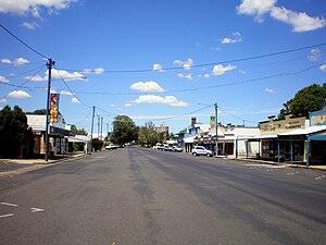 Allora, Queensland - Main street
