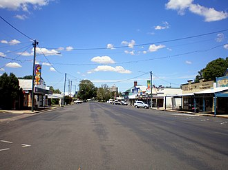 Allora, Queensland - Main street