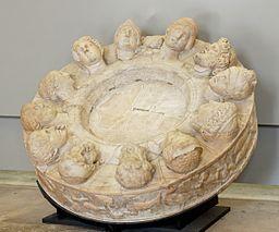 Altar twelve gods Louvre Ma666