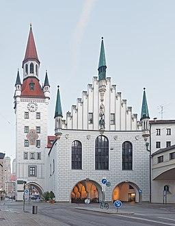 Altes Rathaus München Ostseite