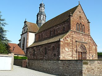 Altorf - The church in Altorf