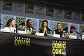 Alycia Debnam-Carey, Colman Domingo, Danay Garcia, Jenna Elfman & Garret Dillahunt (42926947834).jpg