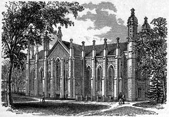 Widener Library - Widener Library's predecessor, Gore Hall