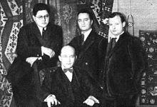 Amar Quartett (1922)v.l.n.r.: Maurits Frank, Licco Amar, Walter Caspar und Paul Hindemith (Quelle: Wikimedia)