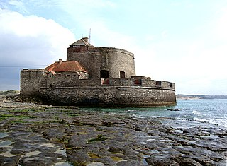 Fort Mahon Fort located on the coast of the Strait of Dover, northern France