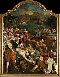 Ambrosius Francken (I) - Martyrdom of Saints Crispin and Crispinian of Soissons.jpg